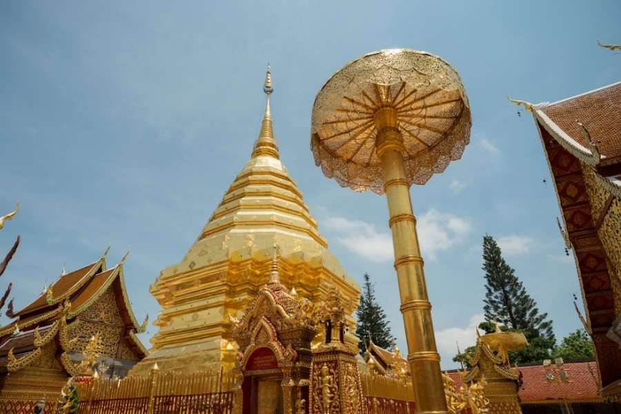 One Fine Afternoon in Doi Suthep Temple Chiang Mai, Thailand