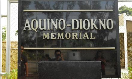 NUEVA EJICA | Aquino – Diokno Memorial, To Remember the Past