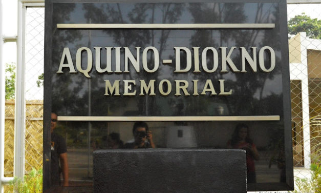 NUEVA EJICA | Aquino – Diokno Memorial, To Remember the Past
