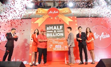 AirAsia Hits Half a Billion Guests!