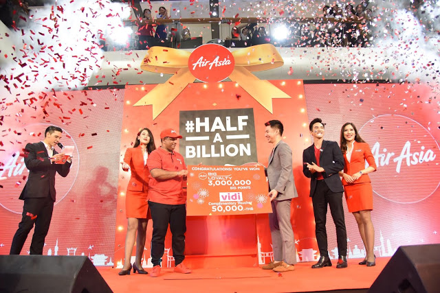 AirAsia Hits Half a Billion Guests!