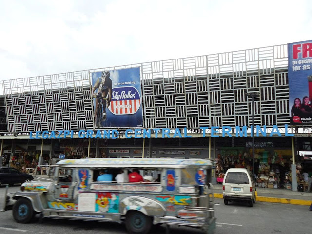 How to get to Naga from Legaspi