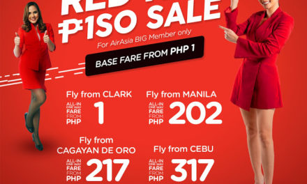 AirAsia Red Hot Piso Sale is back!