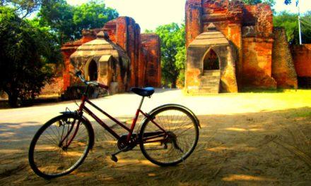 I Learned How To Bike in Bagan