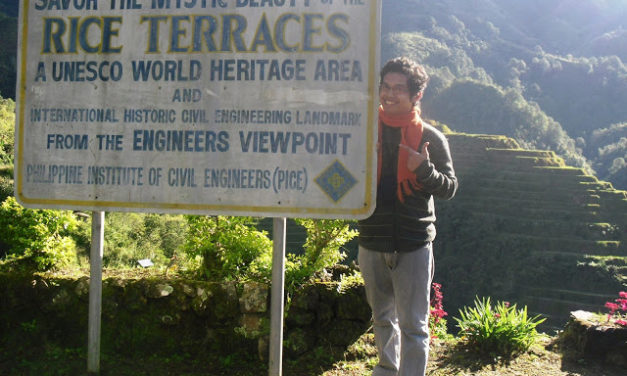 A Small Engagement in Banaue Rice Terraces