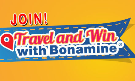 Take a Selfie with Bonamine for a Chance to Win a Trip to Hongkong for Four (4)