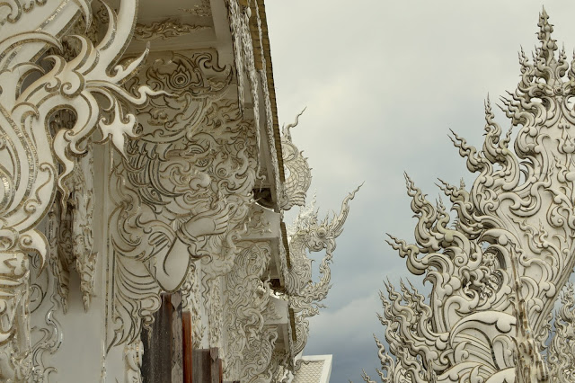 The White Temple or Wat Rong Khun