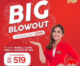 AirAsia welcomes 2019 with 1.9 million promo seats!