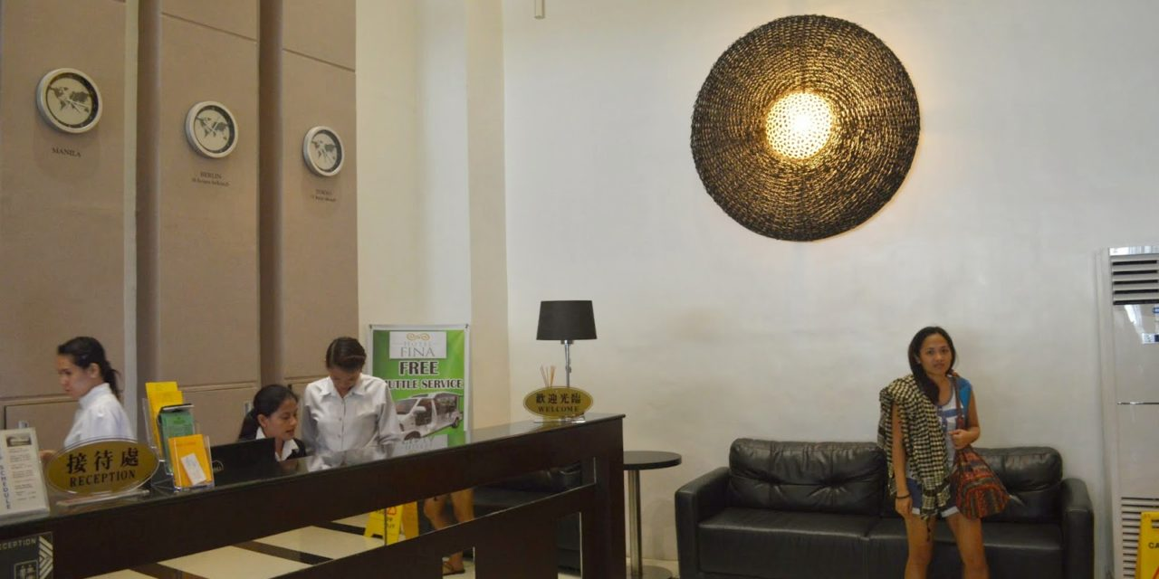 WHERE TO STAY IN TABACO: Comfy Stay at Hotel Fina