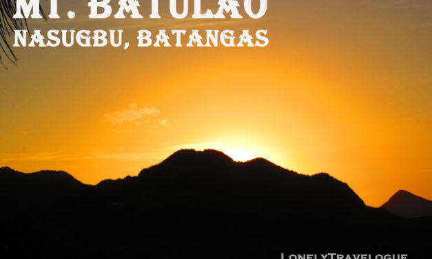 Social Climber: Mt. Batulao