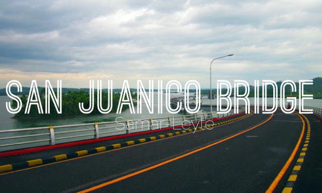 Walking Down San Juanico Bridge