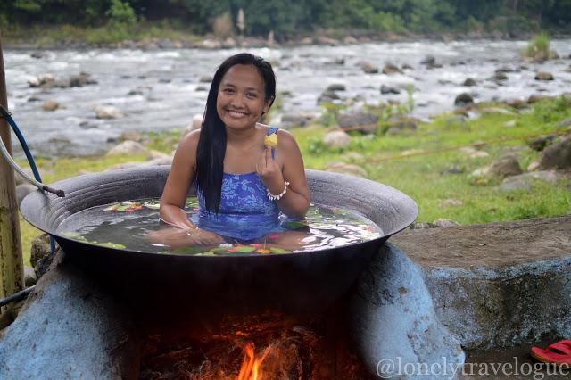 Antique   Kawa Hot Bath and Bugtong Bato Falls