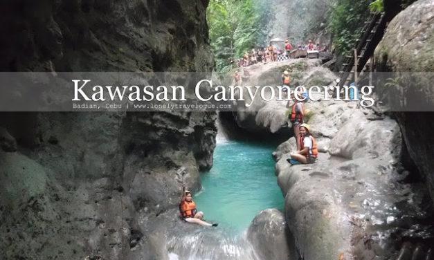 CEBU | Kawasan Canyoneering