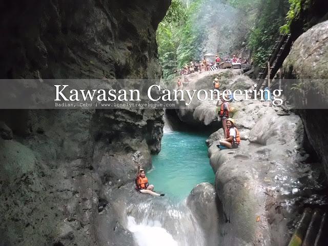 CEBU   Kawasan Canyoneering