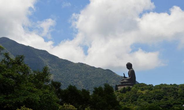 Serene Walk in Ngong Ping and Tian Tan Buddha