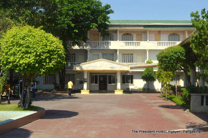 WHERE TO STAY IN LINGAYEN: The President Hotel