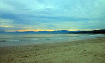 Alone in San Vicente's Long Beach