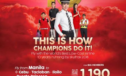 AirAsia is Bohol's official airline partner for Sandugo Festival 2018