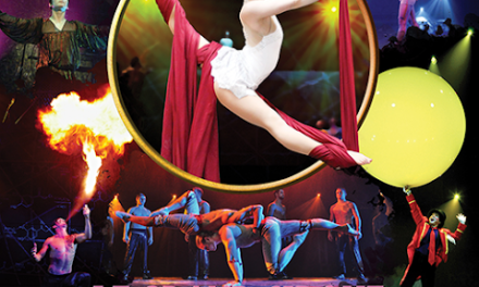 The Greatest Show in Town is Here: Le Grand Cirque!
